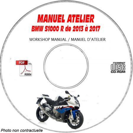 S1000 R 07-13 Manuel Atelier CDROM BMW FR