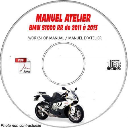 S1000 RR 11-13 Manuel Atelier CDROM BMW