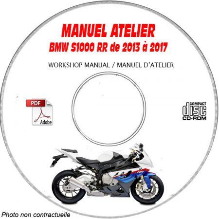 S1000 RR 13-17 Manuel Atelier CDROM BMW