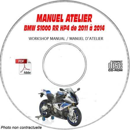 S1000 RR HP4 11-13 Manuel Atelier CDROM BMW