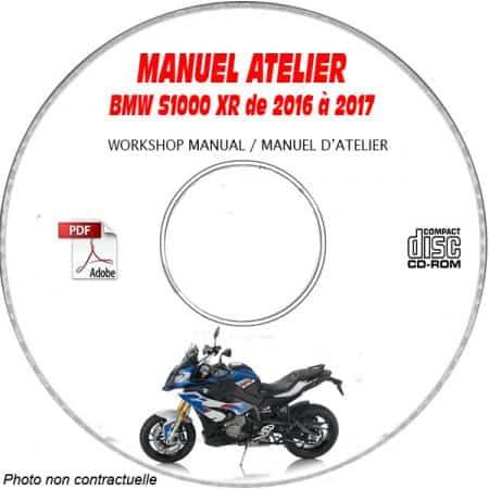 S1000 XR 16-17 Manuel Atelier CDROM BMW
