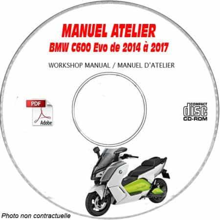C600 evo 14-17Manuel Atelier CDROM BMW