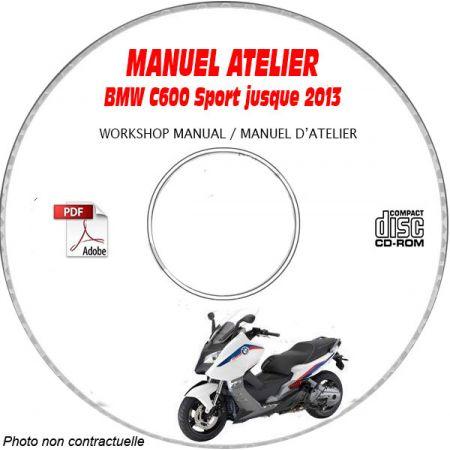 C 650 Sport -13 Manuel Atelier CDROM BMW