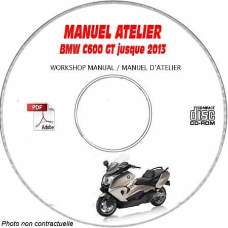 C 650 GT -13 Manuel Atelier CDROM BMW