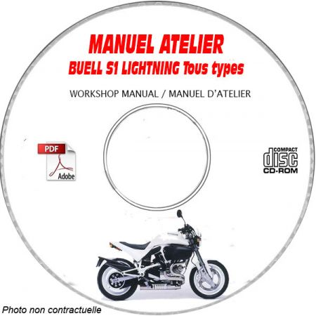 S1 LIGHTNING 1996 Manuel Atelier CDROM BUELL Anglais