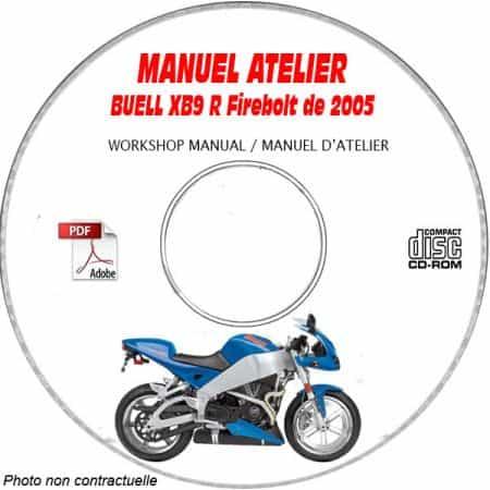 XB9R FIREBOLT -03 Manuel Atelier CDROM BUELL Anglais