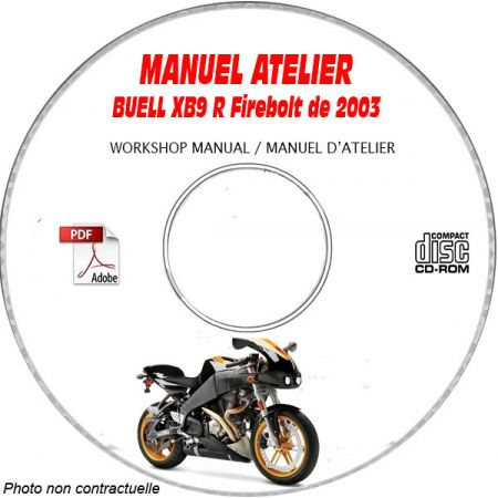XB9R FIREBOLT2005 Manuel Atelier CDROM BUELL Anglais