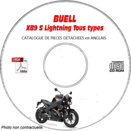 XB9R FIREBOLT -03 Catalogue Pièces CDROM BUELL Anglais