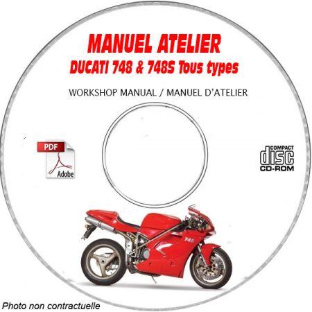 748 S - Manuel Atelier CDROM DUCATI