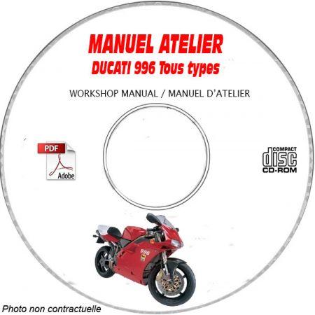 996 1999 Manuel Atelier CDROM DUCATI Anglais italien