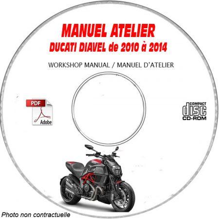 DIAVEL 10-11 Manuel Atelier CDROM DUCATI