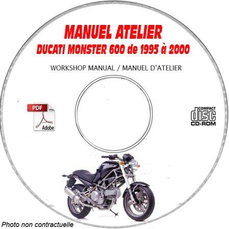 MONSTER 600 Manuel Atelier CDROM DUCATI