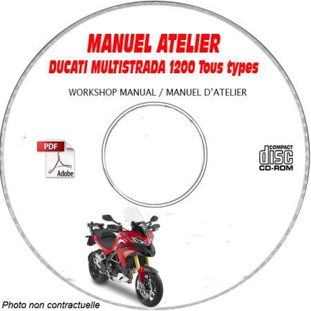 MULTISTRADA 1200 ABS Manuel Atelier CDROM DUCATI
