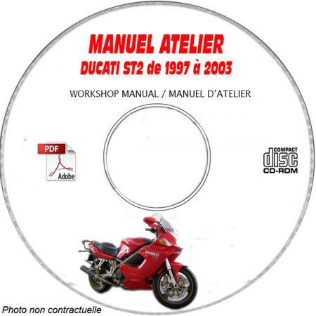 ST2 97-03 Manuel Atelier CDROM DUCATI Anglais