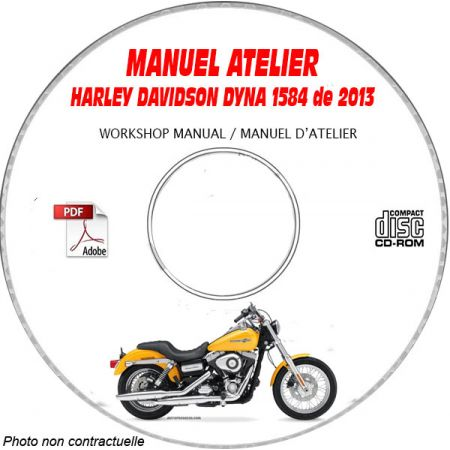 Dyna 2013 Manuel Atelier CDROM HATRLEY Anglais