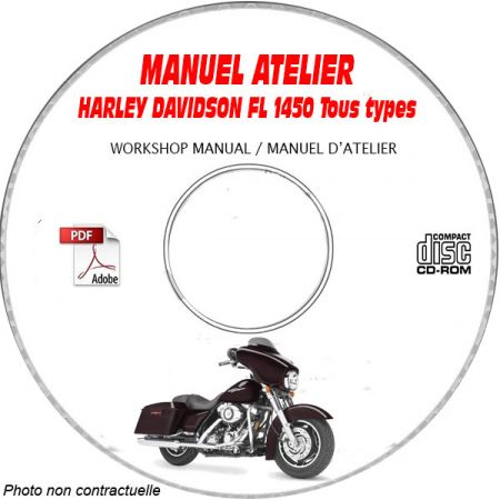 FL 1450 -06 Manuel Atelier CDROM HARLEY-DAVIDSON Anglais