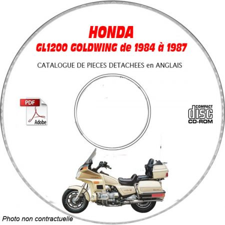 GL1200 GOLDWING Catalogue Pièces CDROM HONDA FR