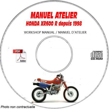 XR 600R 88- Manuel Atelier CDROM HONDA FR