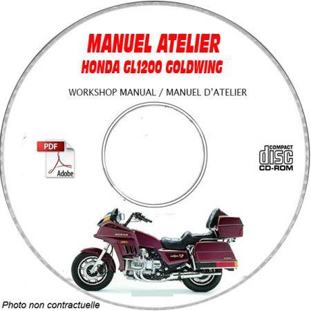 GL 1200 GOLDWING Manuel Atelier CDROM HONDA