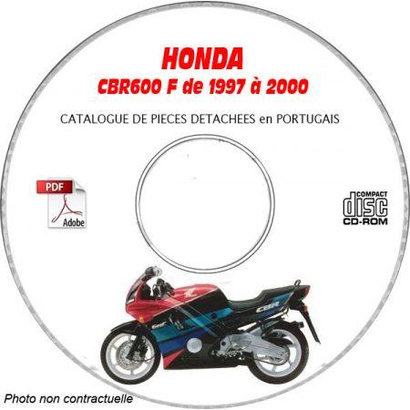 CBR 600F 97-00 CATALOGUE HONDA CDROM Portugais