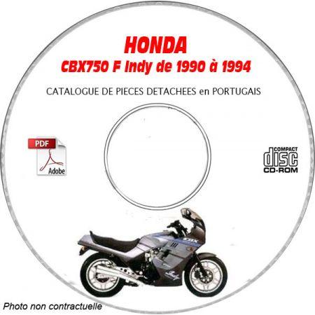 CBX 750F 90-94 Catalogue Pièces CDROM HONDA Portugais