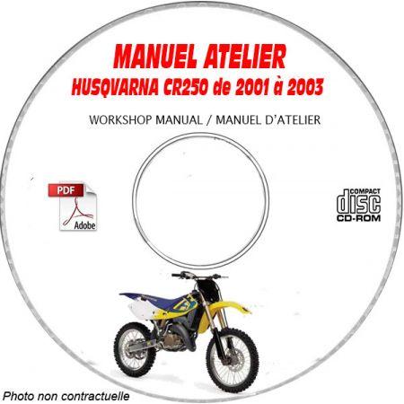 CR 250 01-03 Manuel Atelier CDROM HUSQVARNA