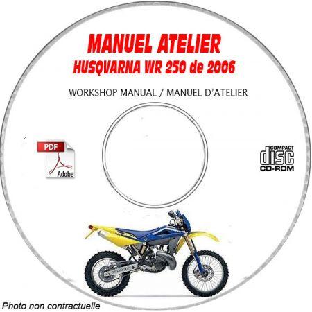 WR 250 2006 Manuel Atelier CDROM HUSQVARNA