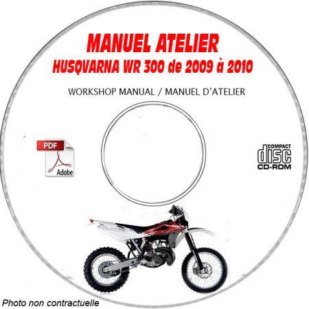 WR 300 09-10 Manuel Atelier CDROM HUSQVARNA