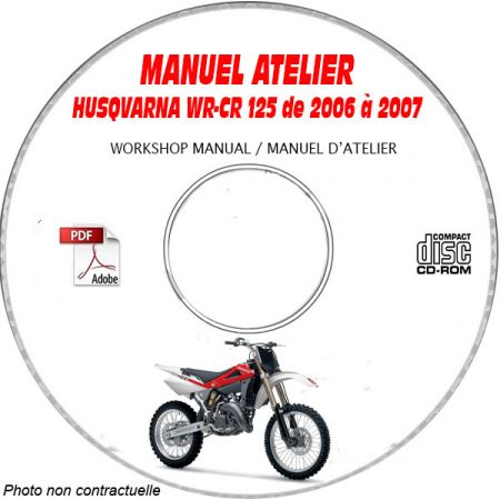 WR-CR 125 06-07 Manuel Atelier CDROM Husqvarna FR