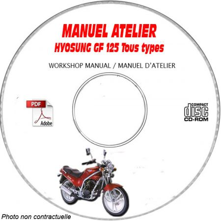 GF 125 -97 Manuel Atelier CDROM HYOSUNG Anglais