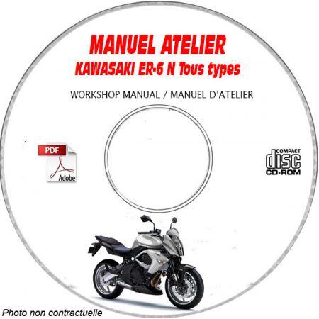 ER-6N Manuel Atelier CDROM KAWASAKI FR