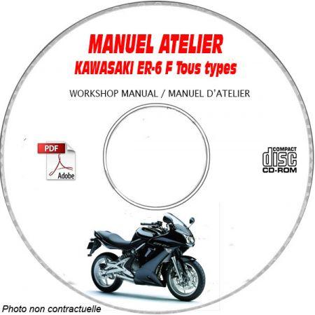 ER-6F -06 Manuel Atelier CDROM KAWASAKI FR