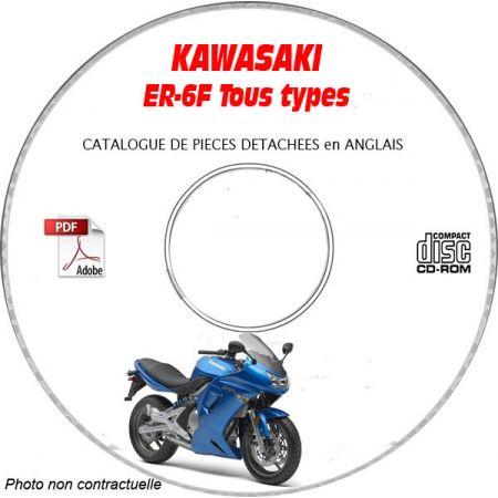 ER-6F 2006 Catalogue Pièces CDROM KAWASAKI Anglais