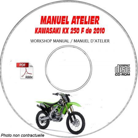 MANUEL D'ATELIER KX 250F 2010