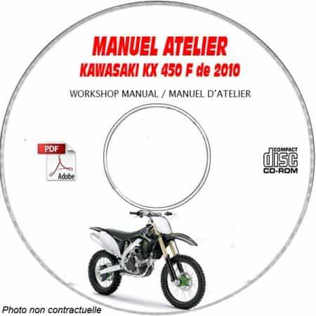 MANUEL D'ATELIER KX 450F 2010