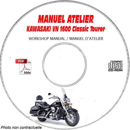 MANUEL D'ATELIER VN1600 CLASSIC TOURER