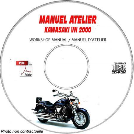 VN 2000 - Manuel Atelier CDROM KAWASAKI FR