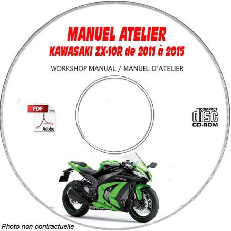 ZX 10R 11-12 Manuel Atelier CDROM KAWASAKI