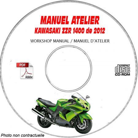 MANUEL D'ATELIER ZZR 1400 2012