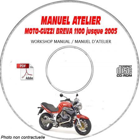 MANUEL D'ATELIER BREVA 1100 2005