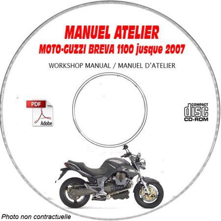 BREVA 1100 07 Manuel Atelier CDROM MOTO-GUZZI