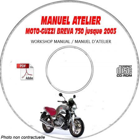 Breva 750 03 Manuel Atelier CDROM MOTOGUZZI