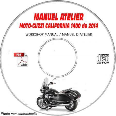 CALIFORNIA 1400 14 Manuel Atelier CDROM MOTO-GUZZI