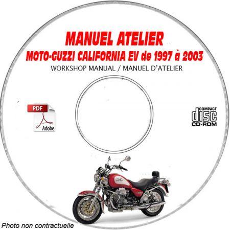 CALIFORNIA EV 97-02 Manuel Atelier CDROM MOTO-GUZZI