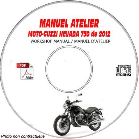 NEVADA 750 ie -04 Manuel Atelier CDROM MOTO-GUZZI FR