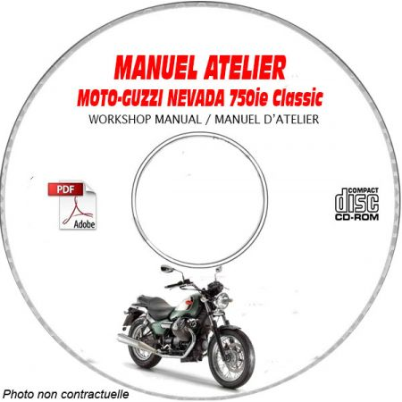 NEVADA 750ie - Manuel Atelier CDROM MOTO-GUZZI FR