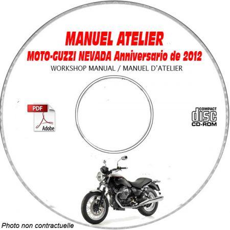 NEVADA ANNIVERSARIO 750 Manuel Atelier CDROM MOTO-GUZZI FR