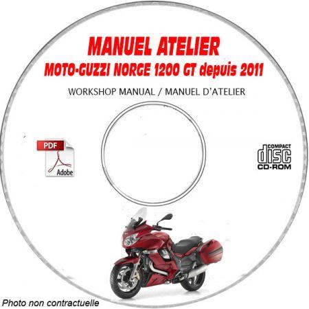 NORGE 1200 8V GT 11 Manuel Atelier CDROM MOTOGUZZI