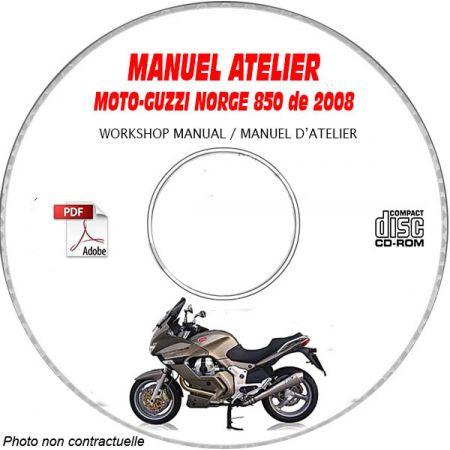 NORGE 850 08 Manuel Atelier CDROM MOTOGUZZI