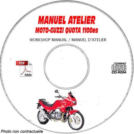 QUOTA 1100 02 Manuel Atelier CDROM MOTO-GUZZI Anglais